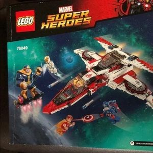LEGO Marvel Instruction Manual ONLY